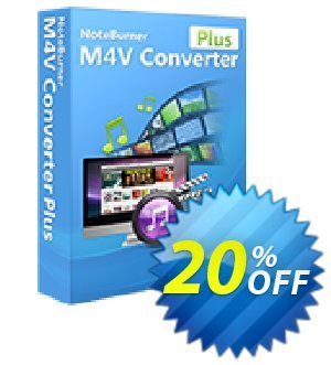 NoteBurner M4V Converter Plus for Windows Coupon, discount NoteBurner M4V Converter Plus for Windows excellent offer code 2019. Promotion: excellent offer code of NoteBurner M4V Converter Plus for Windows 2019