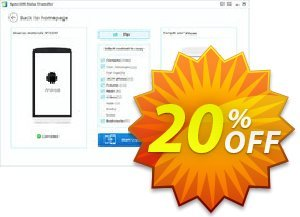 Syncios Data Transfer for Windows Coupon, discount Syncios Data Transfer for Windows impressive offer code 2021. Promotion: impressive offer code of Syncios Data Transfer for Windows 2021