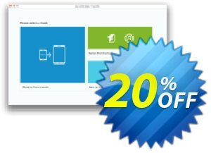 Syncios Data Transfer for Mac discount coupon Syncios Data Transfer for Mac formidable discount code 2020 - formidable discount code of Syncios Data Transfer for Mac 2020