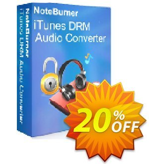 NoteBurner iTunes DRM Audio Converter for Mac Coupon, discount NoteBurner iTunes DRM Audio Converter for Mac imposing promo code 2021. Promotion: imposing promo code of NoteBurner iTunes DRM Audio Converter for Mac 2021