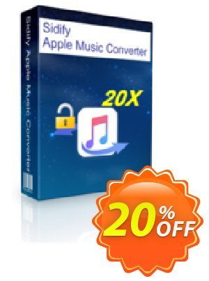 Sidify Apple Music Converter for Mac Coupon, discount Sidify Apple Music Converter for Mac wonderful offer code 2019. Promotion: wonderful offer code of Sidify Apple Music Converter for Mac 2019