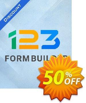 123FormBuilder Team Plan Coupon, discount 50% OFF 123FormBuilder Team Plan, verified. Promotion: Amazing discount code of 123FormBuilder Team Plan, tested & approved