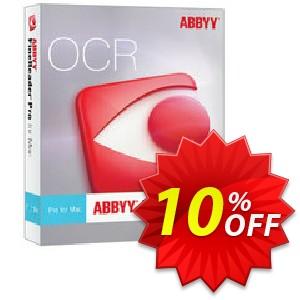 ABBYY FineReader Pro for Mac Upgrade Coupon, discount ABBYY FineReader Pro for Mac Upgrade fearsome discounts code 2019. Promotion: fearsome discounts code of ABBYY FineReader Pro for Mac Upgrade 2019