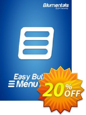Easy Button & Menu Maker 5 Personal (Extended) Coupon, discount Easy Button & Menu Maker 5 Personal (Extended) wonderful promotions code 2019. Promotion: wonderful promotions code of Easy Button & Menu Maker 5 Personal (Extended) 2019