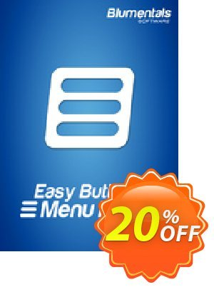 Easy Button & Menu Maker 5 Pro (Extended) Coupon, discount Easy Button & Menu Maker 5 Pro (Extended) amazing sales code 2021. Promotion: amazing sales code of Easy Button & Menu Maker 5 Pro (Extended) 2021