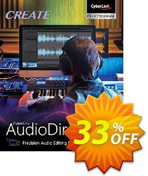 AudioDirector 10 Ultra Coupon, discount 33% OFF AudioDirector Jan 2020. Promotion: Amazing discounts code of AudioDirector, tested in January 2020