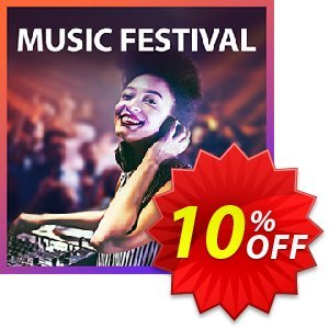 Music Festival Pack for PowerDirector Coupon discount Music Festival Pack for PowerDirector Deal - Music Festival Pack for PowerDirector Exclusive offer