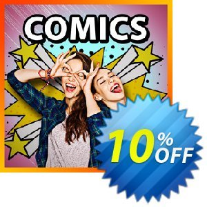 Comics Pack for PowerDirector discount coupon Comics Pack for PowerDirector Deal - Comics Pack for PowerDirector Exclusive offer