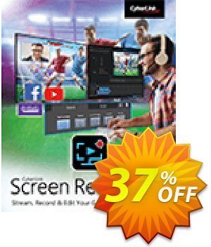 Cyberlink Screen Recorder Coupon, discount 37% OFF Cyberlink Screen Recorder Jan 2020. Promotion: Amazing discounts code of Cyberlink Screen Recorder, tested in January 2020