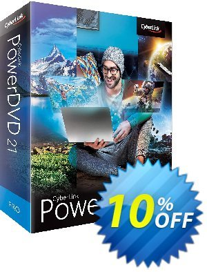 PowerDVD 20 Pro discount coupon PowerDVD amazing offer code 2021 - amazing offer code of PowerDVD 2021