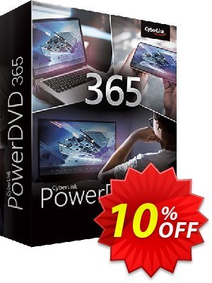 PowerDVD 365 discount coupon 10% OFF PowerDVD 19 live Jan 2021 - Amazing discounts code of PowerDVD 19 live, tested in January 2021