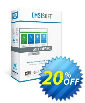 Emsisoft Anti-Malware Home (2 years) discount coupon Emsisoft Anti-Malware Home excellent deals code 2021 - excellent deals code of Emsisoft Anti-Malware Home 2021