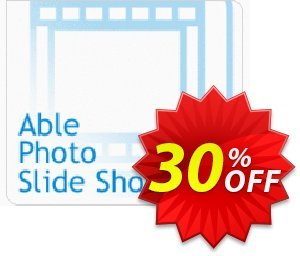 Able Photo Slide Show Coupon, discount 30% - Big-discount. Promotion: marvelous discount code of Able Photo Slide Show 2020