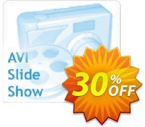 AVI Slide Show Coupon, discount 30% - Big-discount. Promotion: stirring discount code of AVI Slide Show 2019