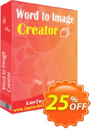 LantechSoft Word to Image Creator Coupon, discount Christmas Offer. Promotion: awful deals code of Word to Image Creator 2020
