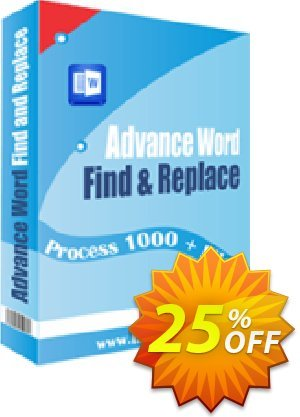 Advance Word Find & Replace Pro 프로모션 코드 10%OFF 프로모션: super promo code of Advance Word Find & Replace Pro 2019