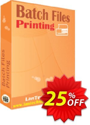 Batch Files Printing Coupon discount 10%OFF. Promotion: awesome discount code of Batch Files Printing 2019