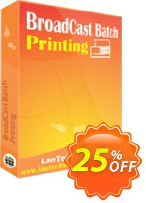 LantechSoft BroadCast Batch Printing Coupon, discount Christmas Offer. Promotion: wonderful promo code of BroadCast Batch Printing 2020