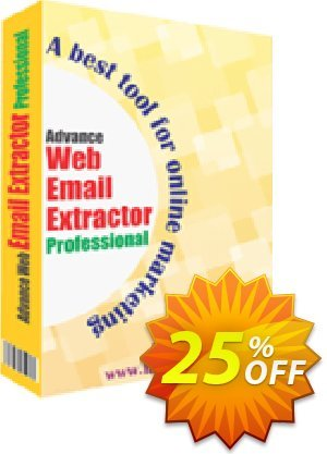 Advance Web Email Extractor Coupon, discount 10%OFF. Promotion: super deals code of Advance Web Email Extractor 2019