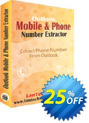 LantechSoft Outlook Mobile and Phone Number Extractor 優惠券,折扣碼 Christmas Offer,促銷代碼: big sales code of Outlook Mobile and Phone Number Extractor 2020