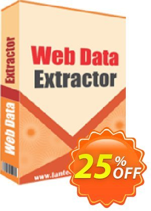 LantechSoft Web Data Extractor Coupon discount Christmas Offer. Promotion: impressive discounts code of Web Data Extractor 2020