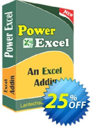 LantechSoft Power Excel Coupon, discount Christmas Offer. Promotion: amazing discounts code of Power Excel 2020