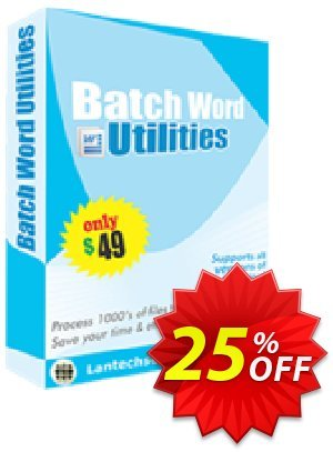 Batch Word Utilities Coupon, discount 10%OFF. Promotion: awful discounts code of Batch Word Utilities 2019