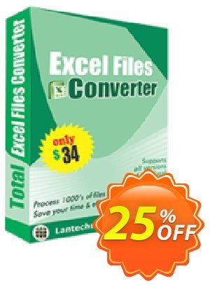 LantechSoft Total Excel Files Converter Coupon, discount Christmas Offer. Promotion: awful discounts code of Total Excel Files Converter 2020