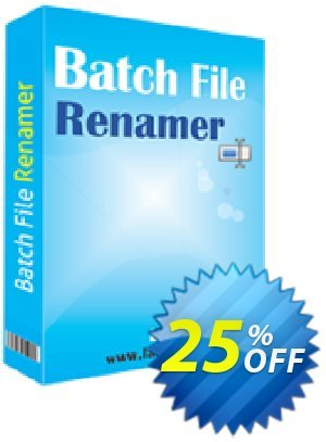 Batch File Renamer Coupon, discount 10%OFF. Promotion: amazing offer code of Batch File Renamer 2019