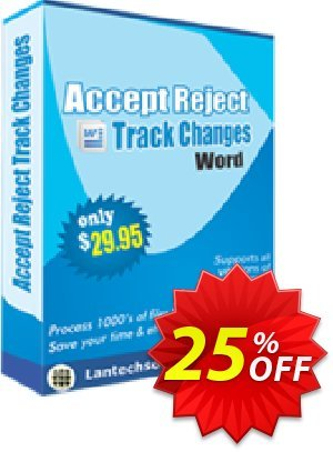 LantechSoft Accept Reject Track Changes Word Coupon, discount Christmas Offer. Promotion: impressive discounts code of Accept Reject Track Changes Word 2020