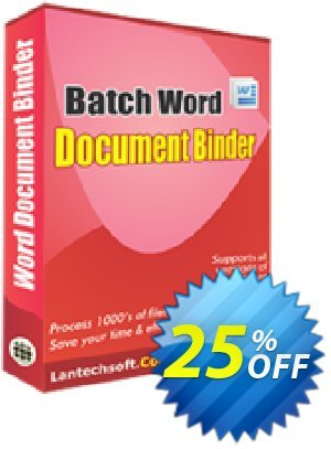 LantechSoft Batch Word Document Binder Coupon, discount Christmas Offer. Promotion: super discounts code of Batch Word Document Binder 2020