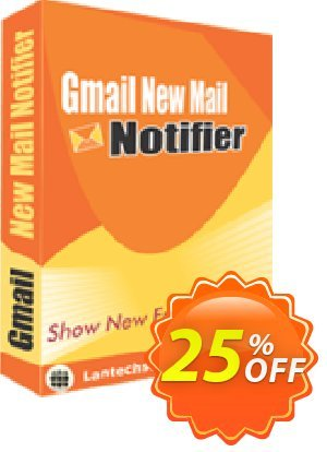 LantechSoft Gmail New Mail Notifier Coupon, discount Christmas Offer. Promotion: dreaded offer code of Gmail New Mail Notifier 2020