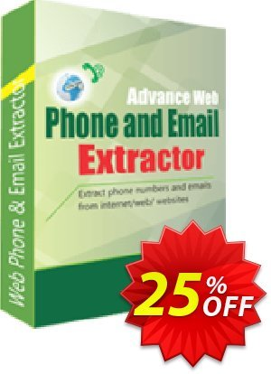 Advance Web Phone and Email Extractor Coupon, discount 10%OFF. Promotion: awful offer code of Advance Web Phone and Email Extractor 2019