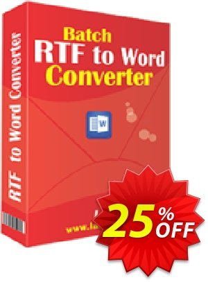LantechSoft Batch RTF to Word Converter Coupon, discount Christmas Offer. Promotion: formidable discount code of Batch RTF to Word Converter 2020