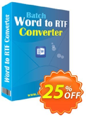 LantechSoft Batch Word to RTF Converter Coupon, discount Christmas Offer. Promotion: amazing discount code of Batch Word to RTF Converter 2020
