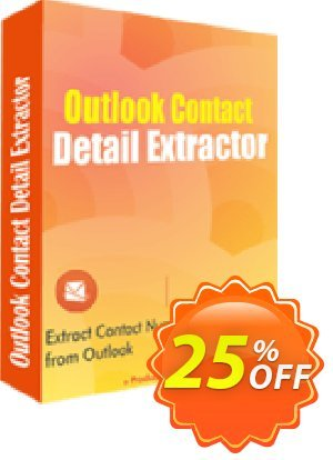 LantechSoft Outlook Contact Detail Extractor 프로모션 코드 Christmas Offer 프로모션: big discount code of Outlook Contact Detail Extractor 2020