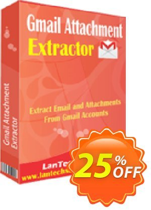 LantechSoft Gmail Attachment Extractor 優惠券,折扣碼 Christmas Offer,促銷代碼: special discount code of Gmail Attachment Extractor 2020