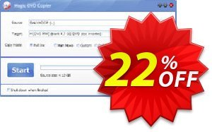 Magic DVD Copier (Full License + 2 Years Upgrades) discount coupon Promotion offer for MDC(FL+2) - fearsome sales code of MDC (Full License+2 Years Upgrades) 2021