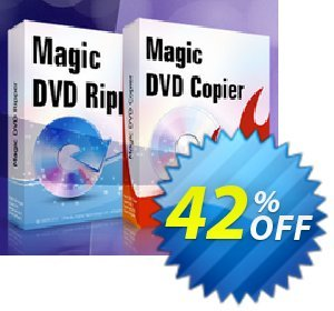 Magic DVD Ripper + Magic DVD Copier (Full License + 2 Years Upgrades) Coupon discount Promotion offer for MDR+MDC(FL+2). Promotion: dreaded deals code of Magic DVD Ripper + DVD Copier (Full License + 2 Years Upgrades) 2020