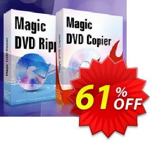 Magic DVD Ripper + Magic DVD Copier Full License - Lifetime Upgrades Coupon, discount Promotion offer for MDC+MDR(FL+lifetime). Promotion: awful promotions code of Magic DVD Ripper + DVD Copier (Full License + Lifetime Upgrades) 2019