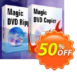 Magic DVD Ripper + Magic DVD Copier - 2 Years Upgrades Coupon discount Promotion coupon for MDR+MDC(2upgrade). Promotion: big discount code of 2 Years Upgrades for Magic DVD Ripper + Copier 2020