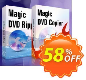 Magic DVD Ripper + Magic DVD Copier - Lifetime Upgrades 優惠券,折扣碼 Promotion coupon for MDR+MDC(Lifetime),促銷代碼: exclusive promotions code of Lifetime Upgrades for Magic DVD Ripper + Copier 2020