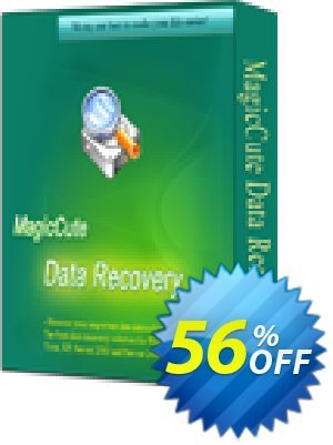 Get MagicCute Data Recovery (1 Year) 56% OFF coupon code