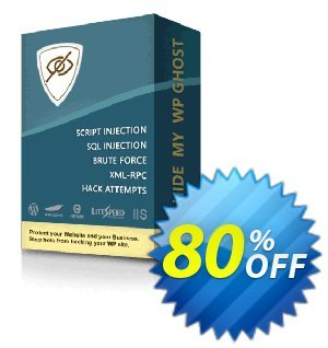 Hide My WP Ghost discount coupon 80% OFF Hide My WP Ghost, verified - Best sales code of Hide My WP Ghost, tested & approved