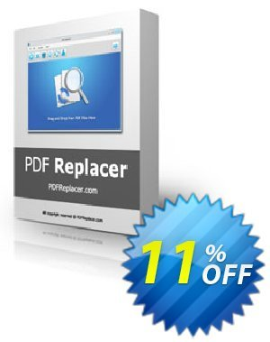 PDF Replacer Pro Coupon, discount 3usdreseller. Promotion: awesome discounts code of PDF Replacer Pro 2020