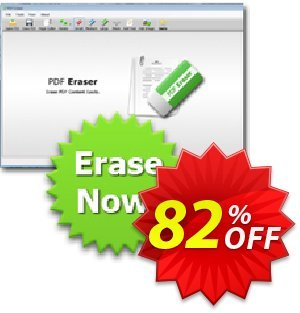Reezaa PDF Eraser PRO Coupon, discount 3usdreseller. Promotion: formidable promotions code of PDF Eraser PRO 2020