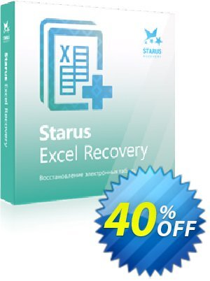 Starus Excel Recovery 프로모션 코드 Starus Excel Recovery wonderful discount code 2020 프로모션: wonderful discount code of Starus Excel Recovery 2020