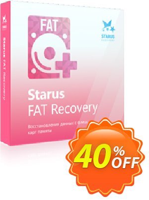Starus FAT Recovery 프로모션 코드 Starus FAT Recovery amazing promotions code 2020 프로모션: amazing promotions code of Starus FAT Recovery 2020