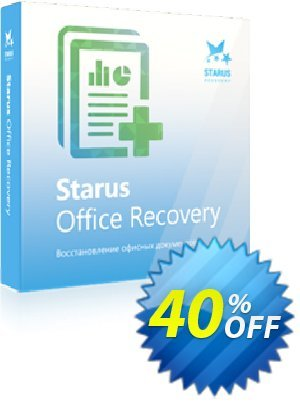 Starus Office Recovery 優惠券,折扣碼 Starus Office Recovery staggering deals code 2020,促銷代碼: staggering deals code of Starus Office Recovery 2020