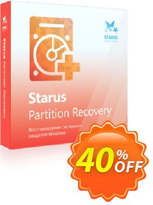 Starus Partition Recovery Coupon, discount Starus Partition Recovery stirring discount code 2021. Promotion: stirring discount code of Starus Partition Recovery 2021